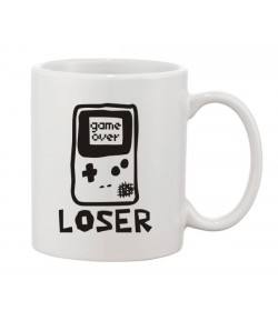 Caneca Game Over Loser