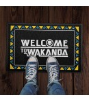 Capacho 60x40cm Welcome To Wakanda
