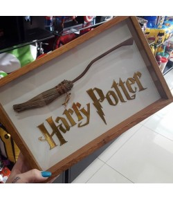 Quadro Harry Potter 3D