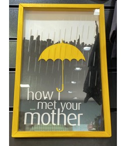 Quadro How I Met Your Mother 3D