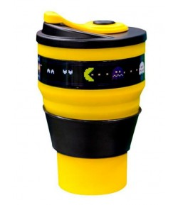 Copo Retrátil 400ML Pac Man