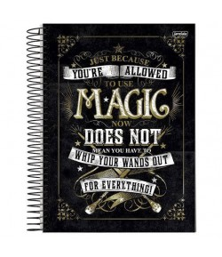 Caderno Harry Potter - Magic 96 Fls