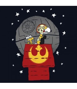 Camiseta Star Wars Snoopy