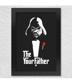 Poster A4 com Moldura The Your Father
