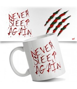 Caneca Never Sleep Again