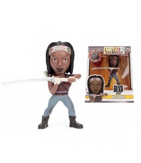 Boneco The Walking Dead – Metals Die Cast Michonne 4""